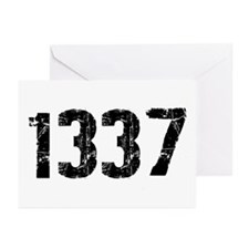 1337 Greeting Cards (Pk of 10)