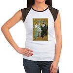 Parisian Absinthe Women's Cap Sleeve T-Shirt
