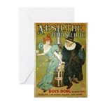 Parisian Absinthe Greeting Cards (Pk of 20)
