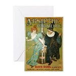 Parisian Absinthe Greeting Card