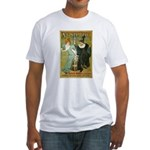 Parisian Absinthe Fitted T-Shirt