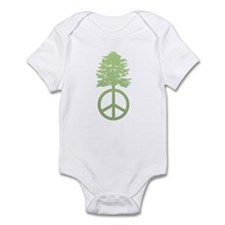 Peace Grows Infant Bodysuit