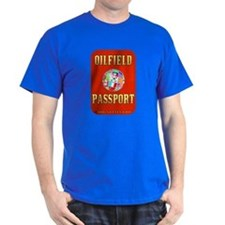 Oil Field Passport T-Shirt,Drilling Rigs,Oil