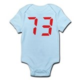 73 seventy-three red alarm cl Infant Bodysuit