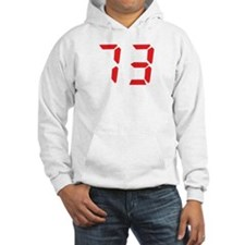 73 seventy-three red alarm cl Hoodie
