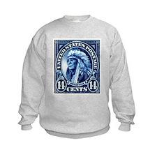 Cute Vintage stamp Sweatshirt