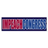 IMPEACH CONGRESS Bumper Bumper Stickers