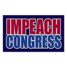 IMPEACH CONGRESS Rectangle Sticker 10 pk)
