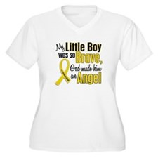 Angel 1 LITTLE BOY Child Cancer T-Shirt