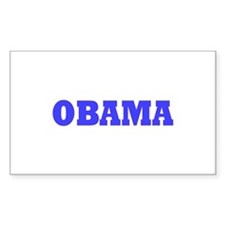 Barack Obama Rectangle Sticker 50 pk)