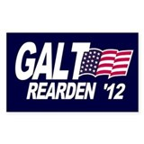Galt Rearden 2012 Blue Rectangle Decal