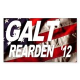 Galt Rearden 2012 Flag Rectangle Decal