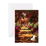 Path / Rat Terrier Greeting Cards (Pk of 10)
