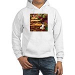 Path / Rat Terrier Hooded Sweatshirt