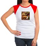 Path / Rat Terrier Women's Cap Sleeve T-Shirt