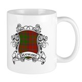 Stewart Tartan Shield Small Mug