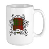 Stewart Tartan Shield Mug