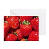 Strawberries Greeting Cards (Pk of 10)