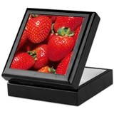 Strawberries Keepsake Box