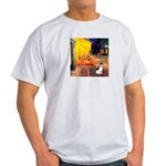 Cafe / Rat Terrier Light T-Shirt
