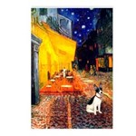 Cafe / Rat Terrier Postcards (Package of 8)