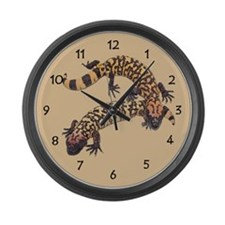 Gila Monster Large Wall Clock