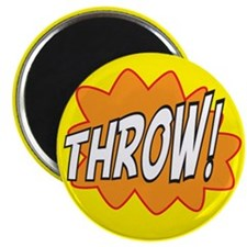 """Throw Action 2.25"""" Magnet (100 pack)"""