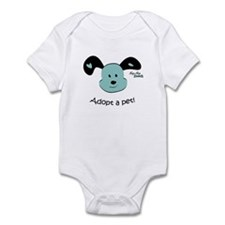 Adopt a Pet! Cute Puppy Design Infant Bodysuit