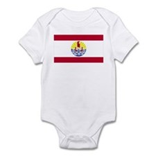 French Polynesia Infant Bodysuit