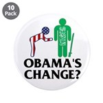 "Change? 3.5"" Button (10 pack)"