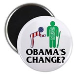 "Change? 2.25"" Magnet (10 pack)"