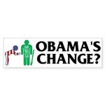 Change? Bumper Sticker (10 pk)