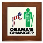 Change? Framed Tile