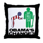 Change? Throw Pillow
