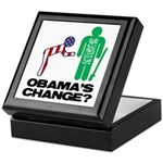 Change? Keepsake Box