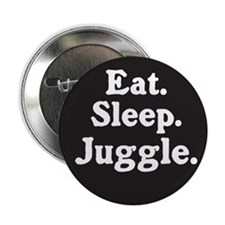 "Eat Sleep Juggle 2.25"" Button (10 pack)"