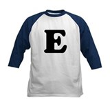 Large Letter E Tee