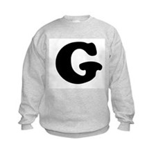 Large Letter G Sweatshirt