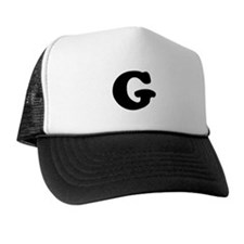 Large Letter G Trucker Hat