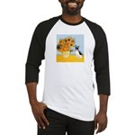 Sunflowers / Rat Terrier Baseball Jersey