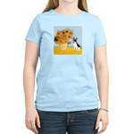 Sunflowers / Rat Terrier Women's Light T-Shirt