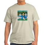 Sailboats / Rat Terrier Light T-Shirt