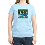 Sailboats / Rat Terrier Women's Light T-Shirt