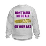 Minnesota Football Kids Sweatshirt