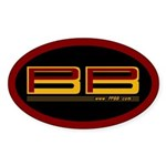 PPBB Oval Sticker
