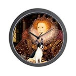 Queen / Rat Terrier Wall Clock