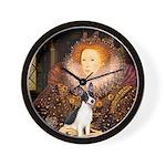 Queen / Rat Terrier Wall Clock