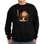 Queen / Rat Terrier Sweatshirt (dark)