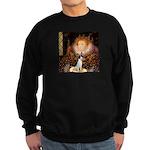 Queen / Rat Terrier Sweatshirt (dark)