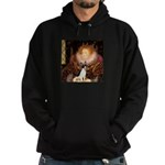 Queen / Rat Terrier Hoodie (dark)